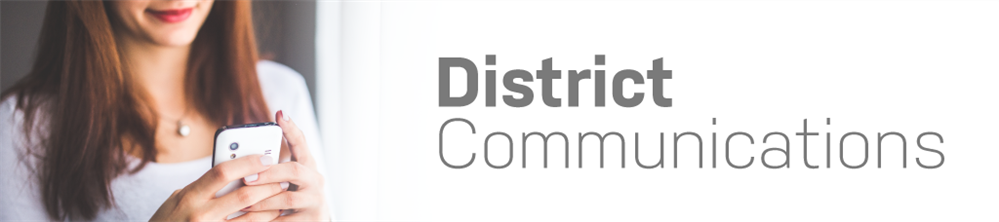 district communications banner