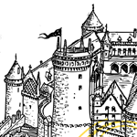 Homecoming icon of castle